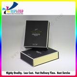 Caixa de presente do preto do papel especial da venda por atacado da laminação de Matt