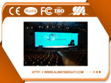 Pantalla de interior video del alquiler P3.91 LED de la función de la visualización