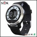 Sek modo Natación impermeable reloj inteligente IP 68 Teléfono móvil del reloj con monitor cardiaco para el teléfono