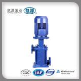 Bomba de pressão eficiente de vários estágios vertical da água do Dl
