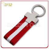 Verkaufsschlager-Förderung-Geschenk-Metall Keychain mit Nylonabzuglinie