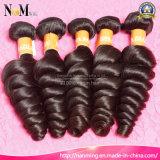 7 - retorno de dia Gurantee, cabelo ondulado do Virgin da onda frouxa não processada chinesa com transporte livre