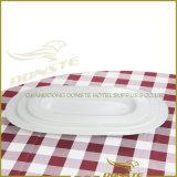 15 PCS-weißes Porzellan-Tafelgeschirr-Set geprägte Perlen-Serie
