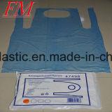 Delantales plásticos claros disponibles del PE respetuoso del medio ambiente barato