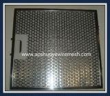 Filtres en aluminium de capot de chaîne d'échappement de cuisine d'acier inoxydable