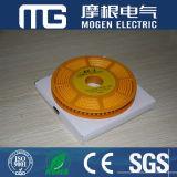 Marcadores amarelos do cabo do PVC Ec-1