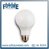 La luz de bulbo más caliente de la lámpara E27 9W LED con el disipador de calor