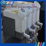 Impresora solvente de Garros Eco con la impresora de la bandera de la flexión de la impresión de la pista de la impresión Dx5