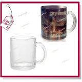 Sublimation personifizierter Druck 11oz Forsted Glas-Becher