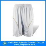 Shorts normali bianchi del sudore dello spazio in bianco del Mens di alta qualità all'ingrosso di sport
