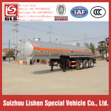 хлористо-водородная кислота Chemical Tank Semi Truck Trailer 30000L Tanker Semi Trailer