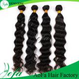естественный бразильский красивейший Weave человеческих волос Remy объемной волны 7A