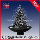 Snowflakes를 가진 고전적인 Black and White Christmas Tree Decoration