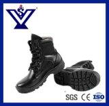 完全なグレーンレザーTraningおよびハイキングすること軍隊(SYSG-293)のための戦術的なブートを