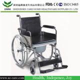 Commode를 가진 의학 휠체어