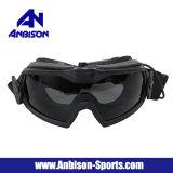Version mise à jour de lunettes de régulateur de Fma LPG01bk12-2r d'Anbison-Sports avec le système de ventilateur