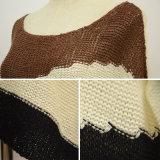 Vêtements tricotés surdimensionnés desserrés occasionnels de femmes