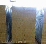 壁のための音によって絶縁される耐火性の鋼鉄岩綿サンドイッチパネル