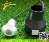 Tiefbaulicht 1W (JP82211-H) des Edelstahl-Deckel-LED