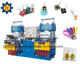 Vakuum Pump Double Station Rubber Silicone Processing Machine für Keychain