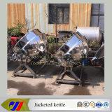 Máquina de cocinar llana de la caldera del alimento del acero inoxidable con la calefacción de vapor que inclina el tipo