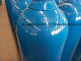 cilindro de gas del acero inconsútil de 40L ISO9809-3