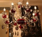 Lampada di cristallo moderna del dispositivo della decorazione K9, lampadario a bracci