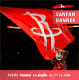 Il nuovo disegno mette in mostra la bandierina, bandierina di sport con il materiale della decorazione