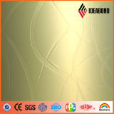 Comitato composito di plastica di alluminio impresso 1220*2440mm di Ideabond (EM- 013)