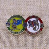 Distintivo molle su ordinazione di Pin del risvolto del metallo dello smalto 2015