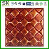 Telha de couro acústica do teto 3D da espuma do plutônio