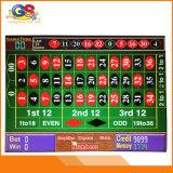 Máquina de fichas de la ruleta del juego electrónico del casino