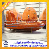 6 mens High Speed Rescue Boat (FRB) met JET Water