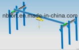 Pont roulant de poutre simple européenne électrique de type d'atelier
