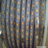 Lumière de bande élevée de l'efficacité IP68 SMD2835 110-220V DEL