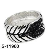최신 디자인 형식 보석 925 은 결혼 반지 (S-11959, S-11960, S-13693, S-13696)