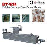 Machine à emballer en plastique (dure) molle d'ampoule de plaque plate de Dpp-420A