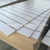 MDF Slatwall меламина с алюминиевой вставкой