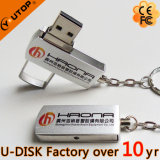 giro feito sob encomenda do logotipo 1-128GB/USB de giro Pendrive (YT-1232L)