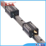 Coating cromado Linear Guideway e Ball Screw