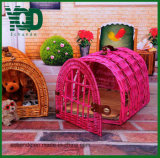 Цветастое Pet Fence с Door, Pet Bed, Dog House.