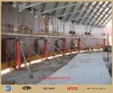 Гидровлическая поднимая домкратом верхняя часть системы для того чтобы основать строительное оборудование бака
