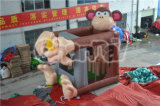 2015 nouveau Popular Inflatable Monkey Castle plein d'entrain pour Kids