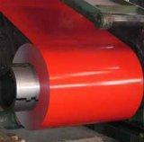 Bobine en acier galvanisée enduite d'une première couche de peinture de vente chaude/acier coloré Coil/PPGI