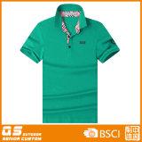 Maglietta di modo di polo di sport degli uomini