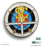 Insigne mol personnalisé de Pin de membre de club d'émail en métal (XD-MB-04)