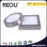 Ce/RoHSの商業か屋内2700k-6500k円形LEDの天井板ライト