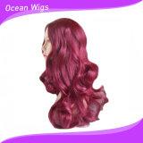 Parrucca dello Synthetic di colore rosso