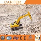 Excavatrices lourdes de chenille de pelle rétro multifonctionnelle de Carter CT220-7A (22ton)