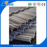 tuiles de toit enduites en métal de sable de 1340X420mm